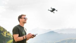 Drone pilot training in the UK