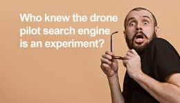 Who knew the drone pilot search engine is an experiment?